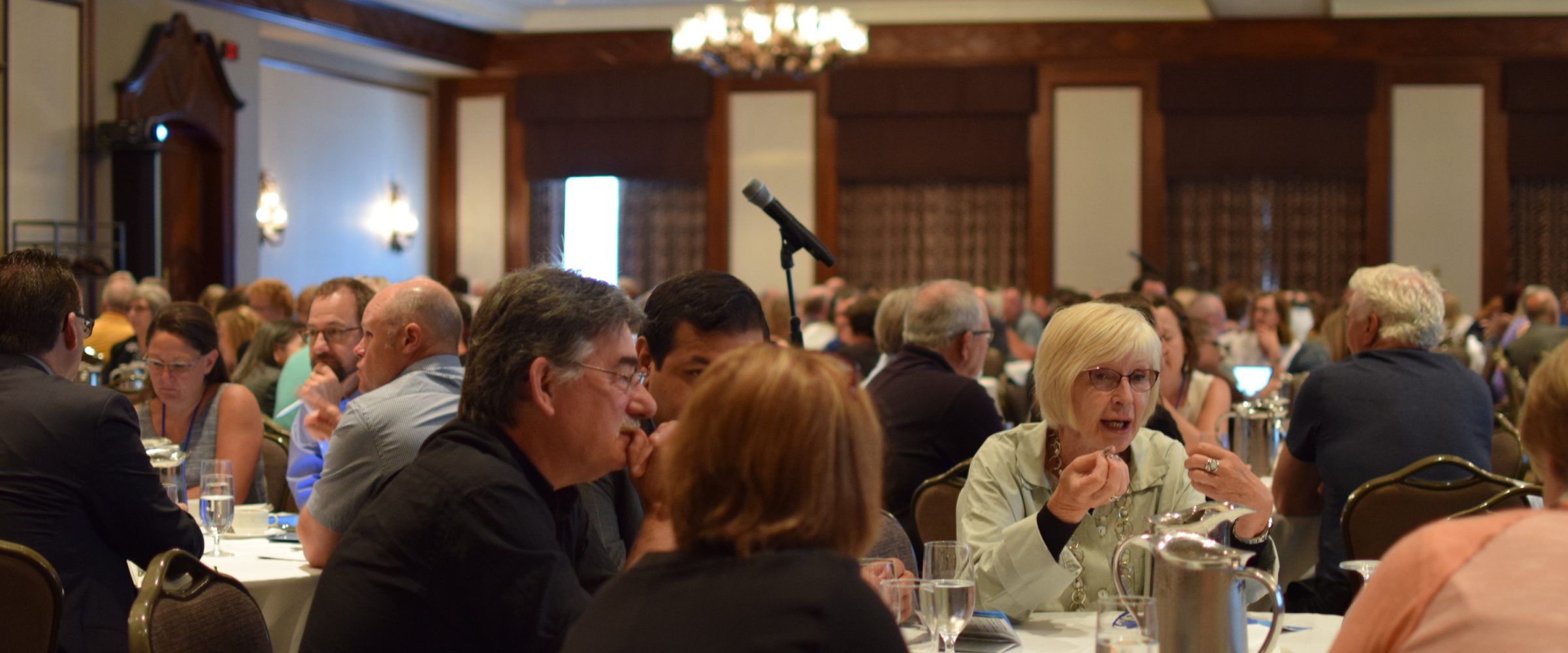 table talks at BCSTA event